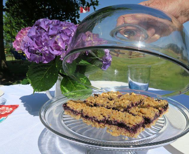 Blueberry Oat Bars - Mennonite Girls Can Cook
