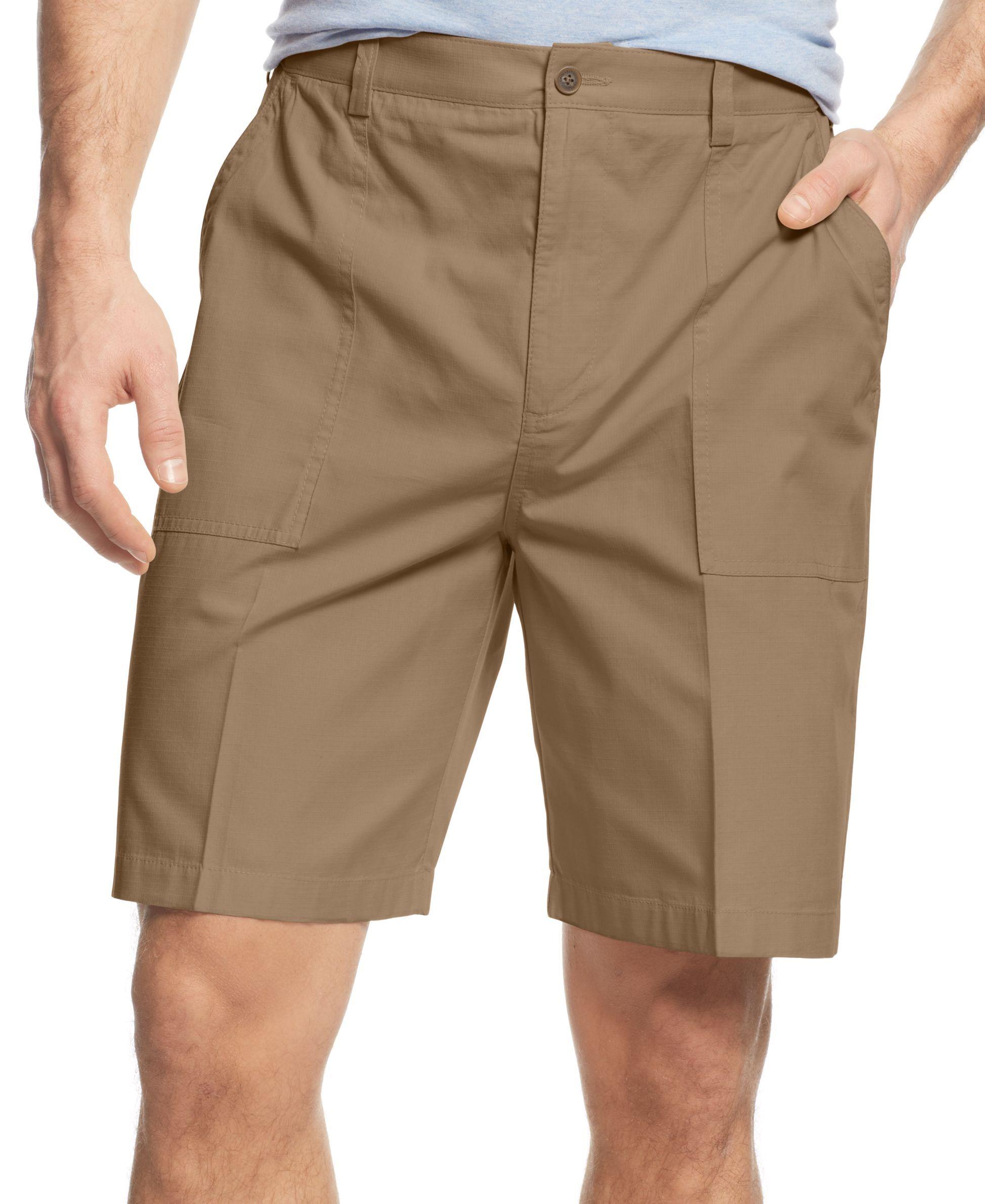 Geoffrey Beene Ripstop Shorts