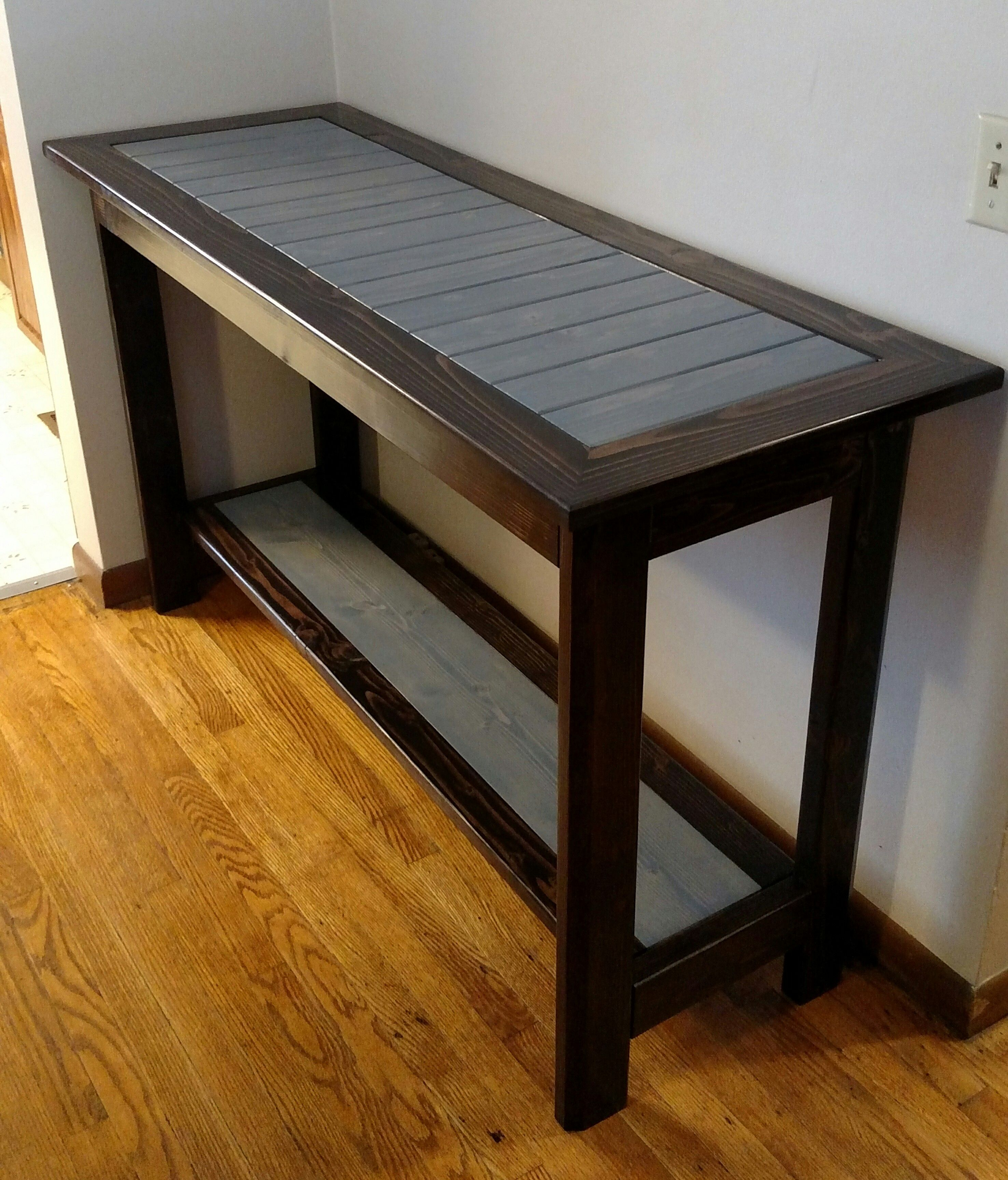 how to build a 2x4 table