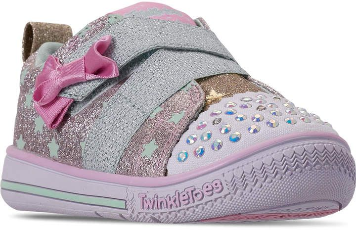 Skechers Girls' Toddler Twinkle Toes: Twinkle Play - Sparkle ...