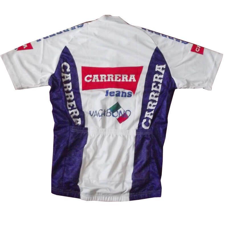 2c56f0b1a Retro Team Carrera cycling Jersey