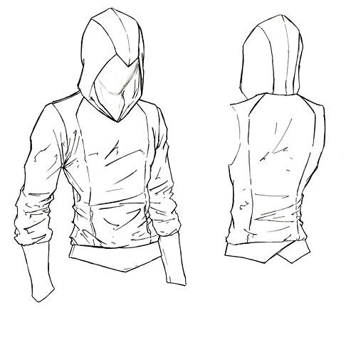 hoodie design Drawing clothes, Hoodie sewing, Drawings