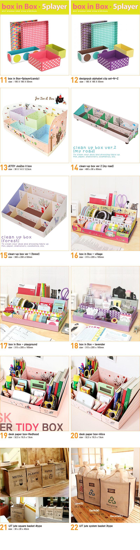 Clean Up Box Ideas -- part 2