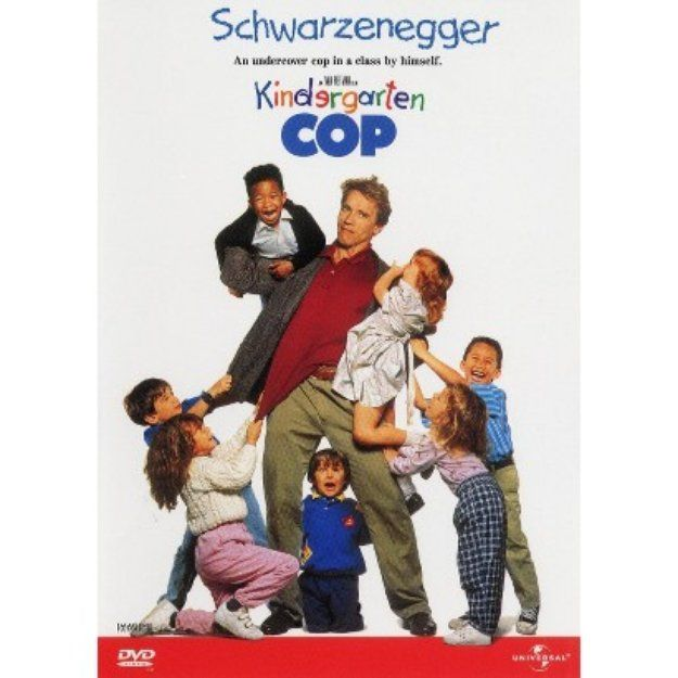 Universal Kindergarten Cop By Schwarzenegger Arno Dvd Good Movies