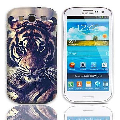 Tiger Eyeing Design vanskelig sak med 3-Pack Skjermbeskytter for Samsung Galaxy S3 I9300    – NOK kr. 55