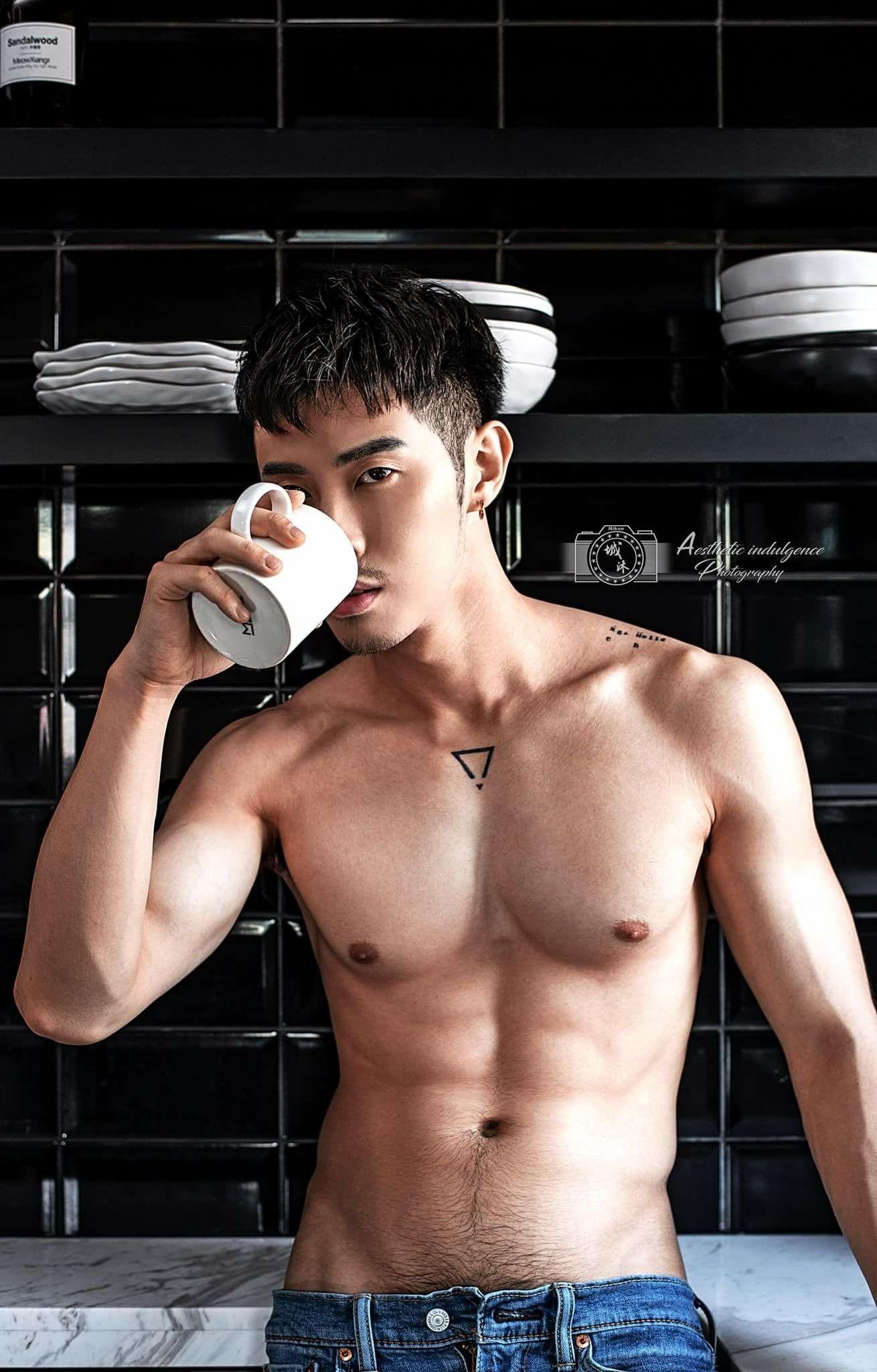 Pin by 胡勤 on 2 台 湾 猛 男 in 2019 Shirtless men, Asian men, Abs