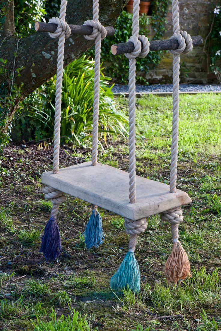 Painted Rope Swing by Annie Sloan | Annie Sloan