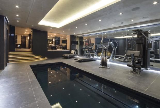 Property For Sale In The Red Brick House Randolph Road Little Venice London W9 32181935 Gym Room At Home Home Gym Design Home