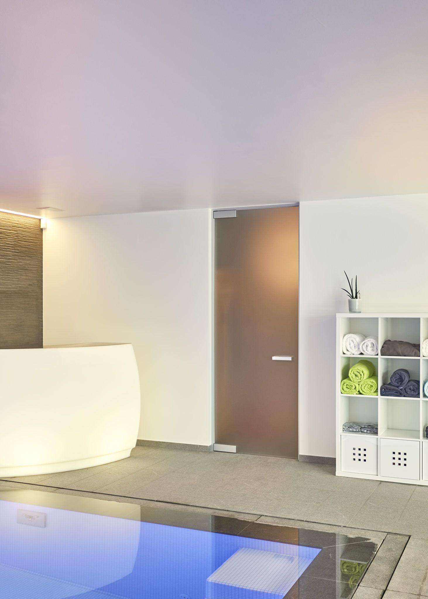 porte vitr e opaque sur mesure avec verre d poli l 39 acide anywaydoors portes vitr es. Black Bedroom Furniture Sets. Home Design Ideas