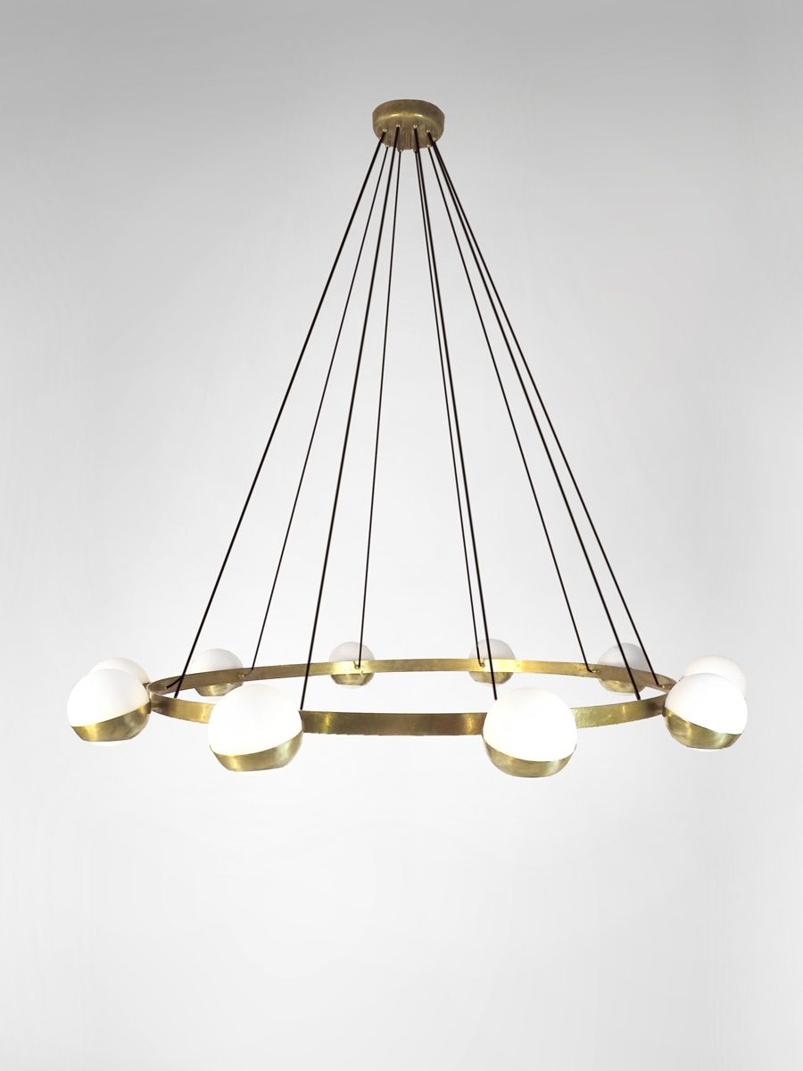 Mid Century Modern Style contemporary Chandelier inspired by Italian Vintage design available in different colors. Mid Century Modern Chandelier and lighting at www.designitalia.com  #italianmidcentury #midcentury #midecenturymodern #Midmodern #midcenturylighting #chandelier #lighting #lamps