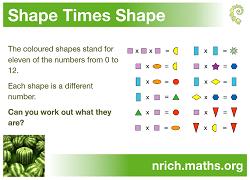nrich problem solving ks1 shape