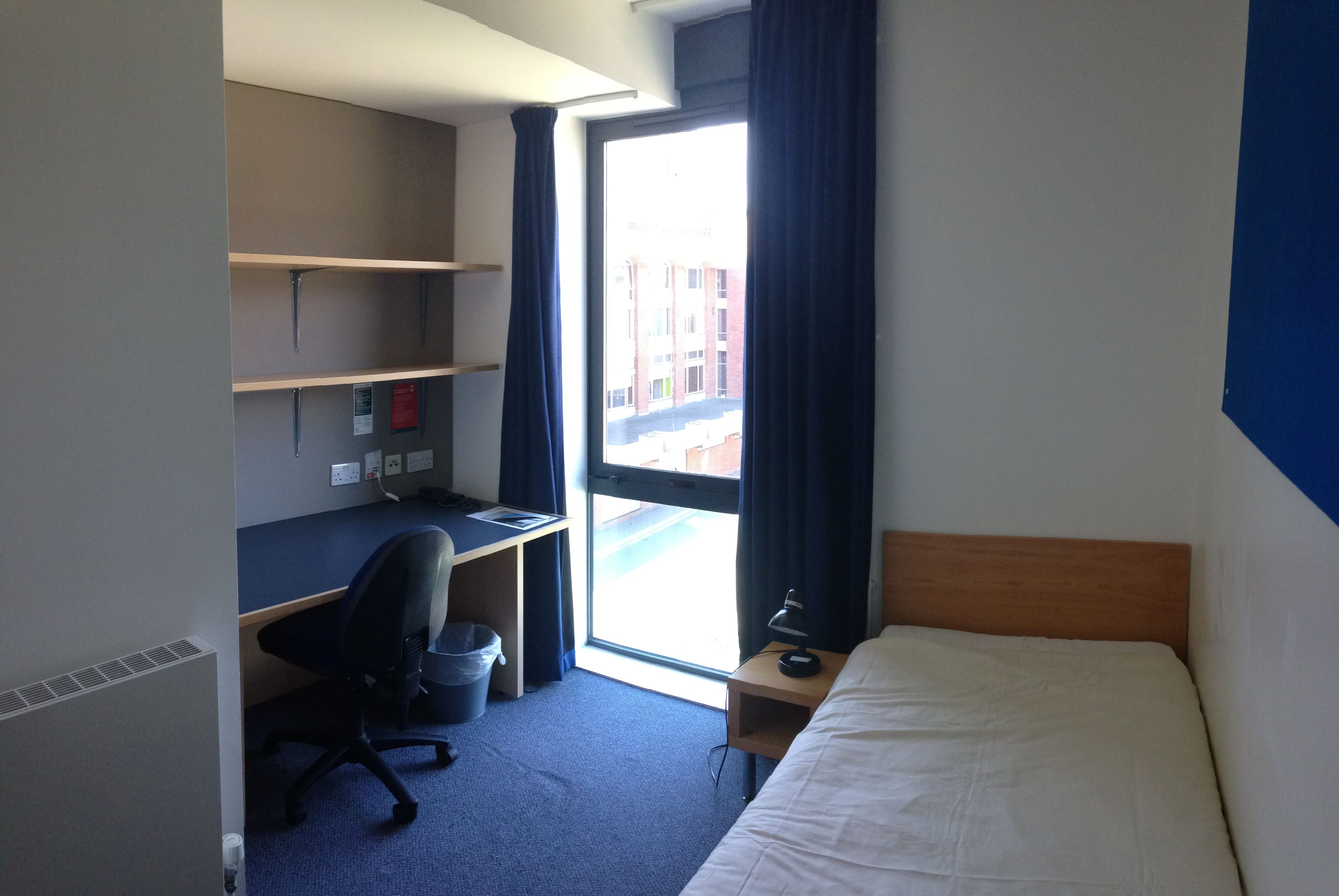A Typical Single Room In Swanborough University Rooms University Accommodation Lounge Areas