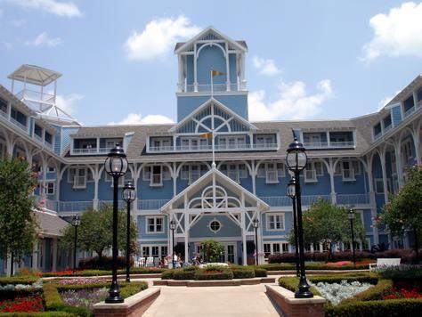 Beach Club Resort Walt Disney World Orlando Fl April 2017