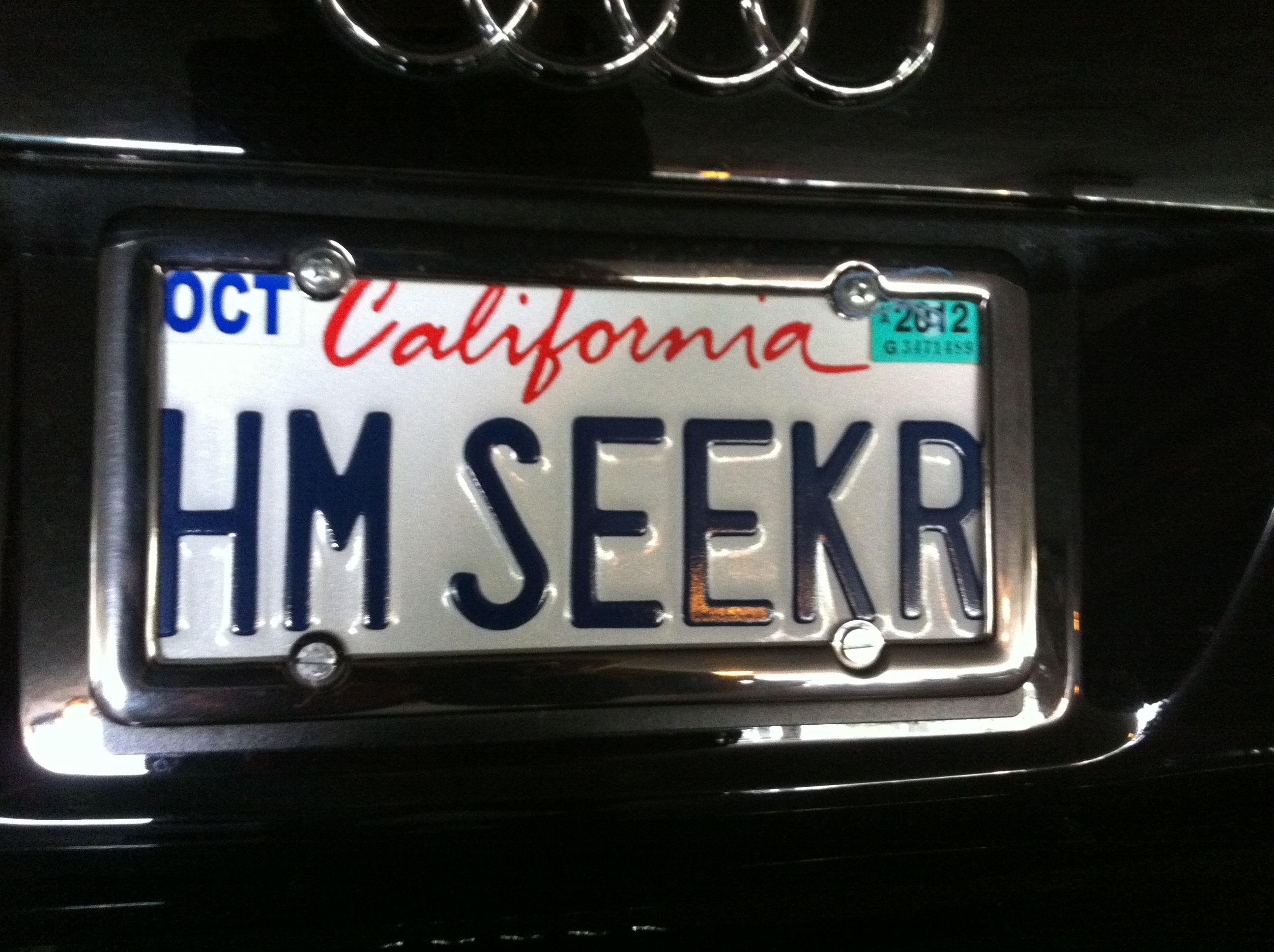 Home Seeker Realtor Vanity License Plates License Plate