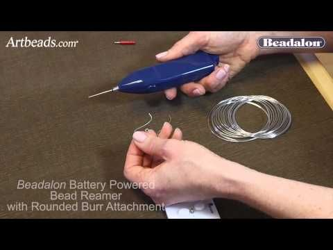 Beadalon Wire Rounder Burr Attachment Use with Battery Operated Bead Reamer and