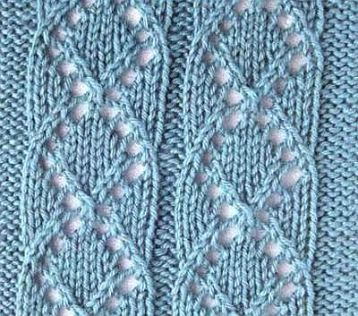Pattern Knitting Medallion Eyelet Pattern For Knitting Sweaters