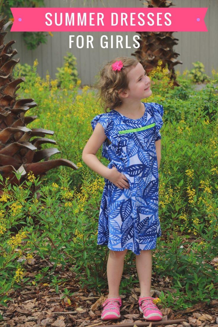 summer dresses for girls | summer kid fashion | little girl fashion | summer style | MomTrends.com