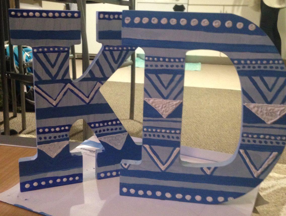 New Kappa Delta letters! kdlovin Delta letter, Kappa