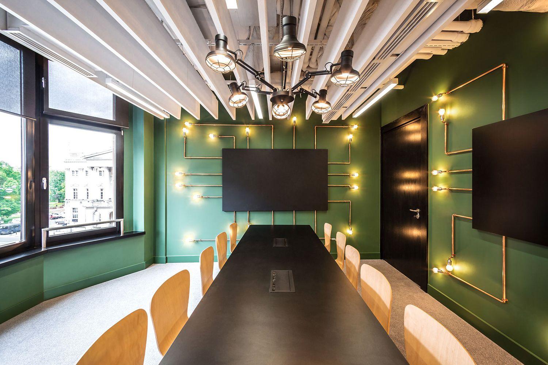 Kantoorinrichting Van Modelina : Het nieuwe kantoor van opera software in polen new office