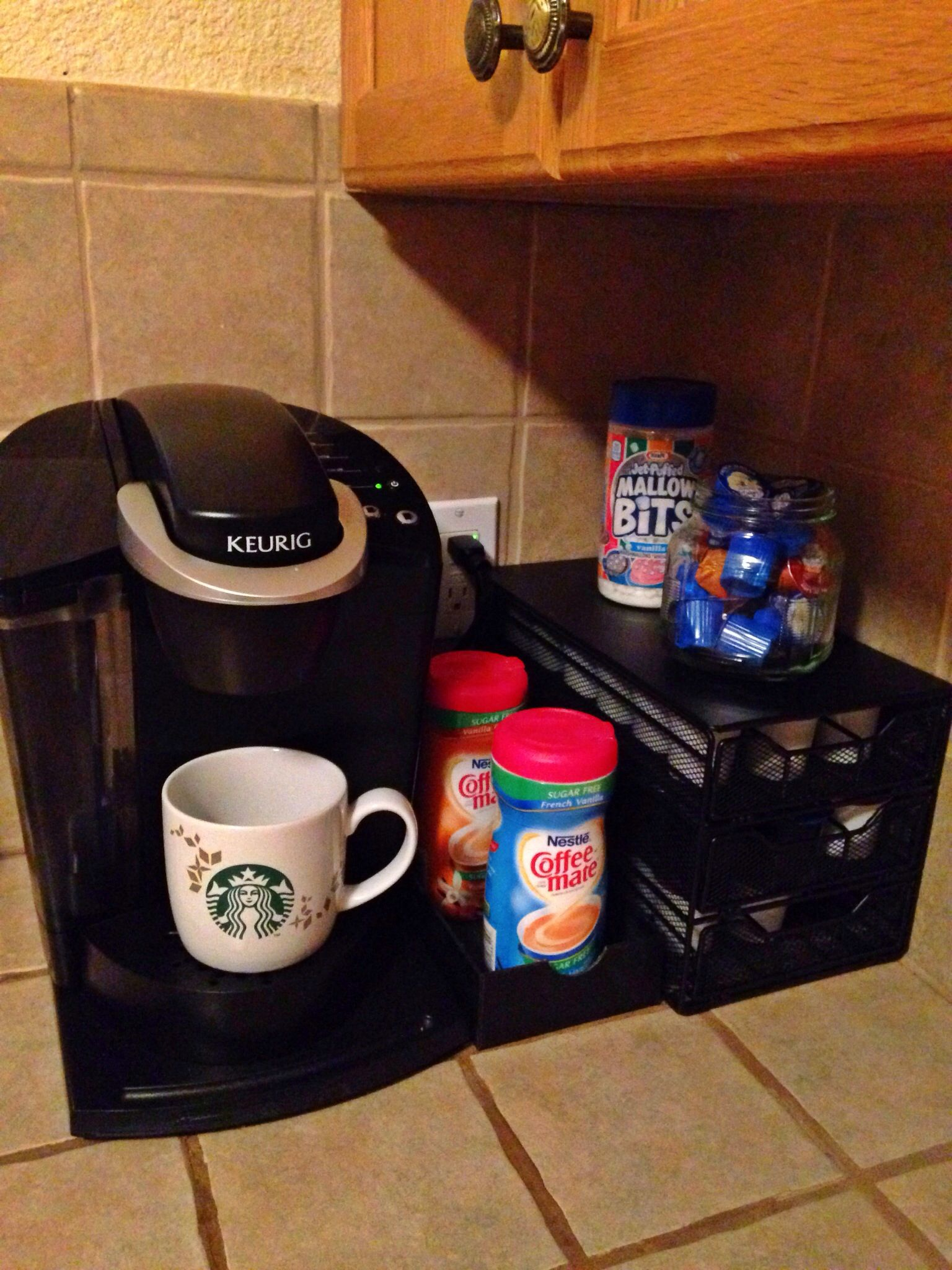 My New Keurig Beverage Station So Far