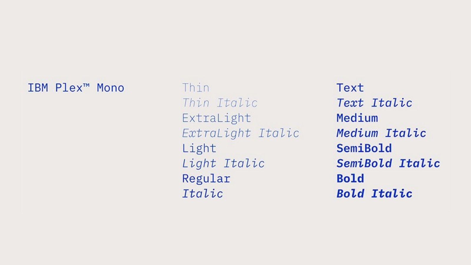 IBM Plex: A Typeface with a Story   Type   Ibm, Bold italic