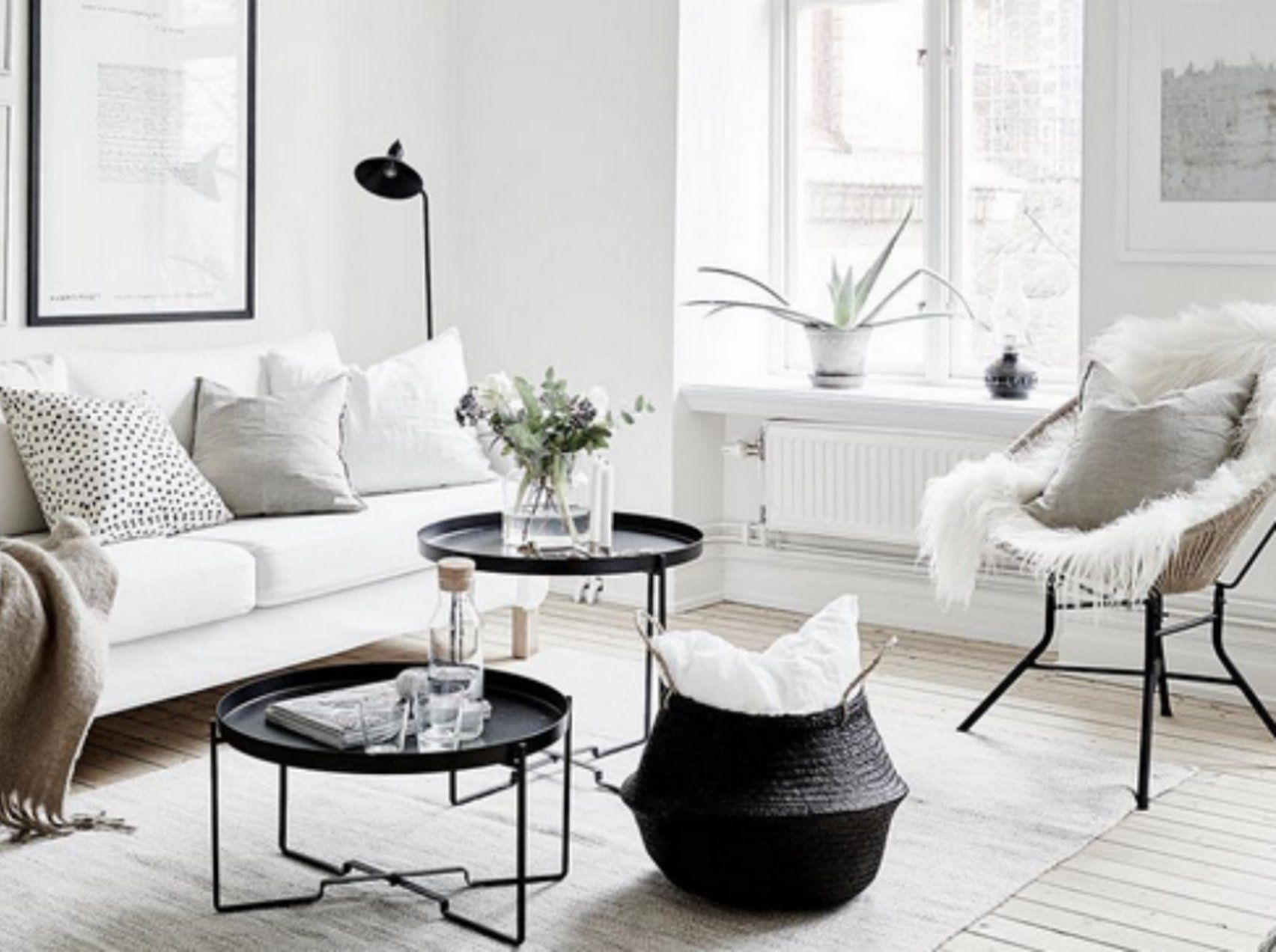 7 deko tricks mit denen deine wohnung gr er wirkt als sie ist interieur pinterest. Black Bedroom Furniture Sets. Home Design Ideas