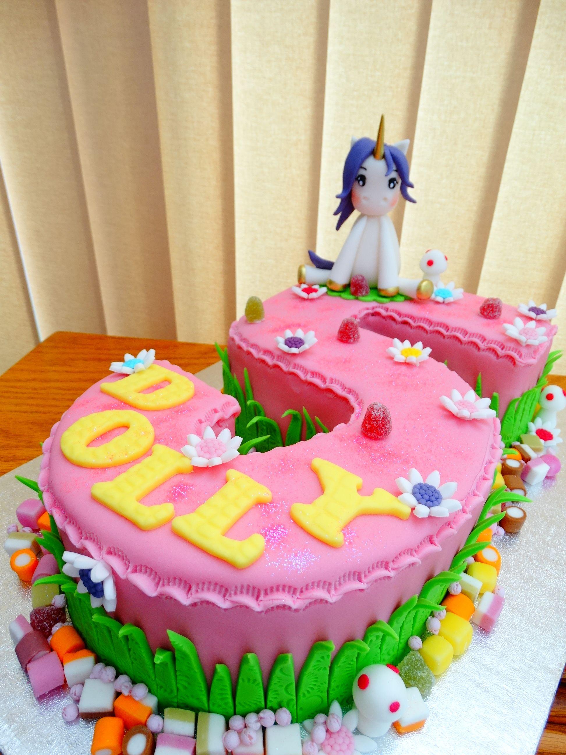 Superb Number 5 Unicorn Cake Xmcx Number 5 Cake Kids Birthday Unicorn Funny Birthday Cards Online Bapapcheapnameinfo