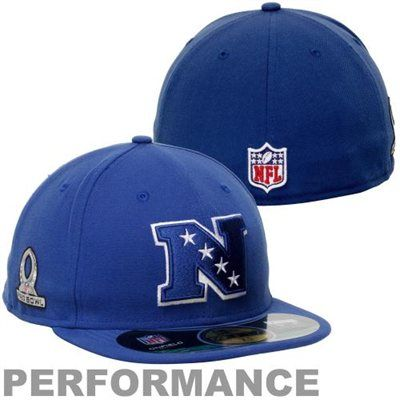 d86c08368a7 New Era 2013 Pro Bowl NFC 59FIFTY Fitted Performance Hat - Royal Blue