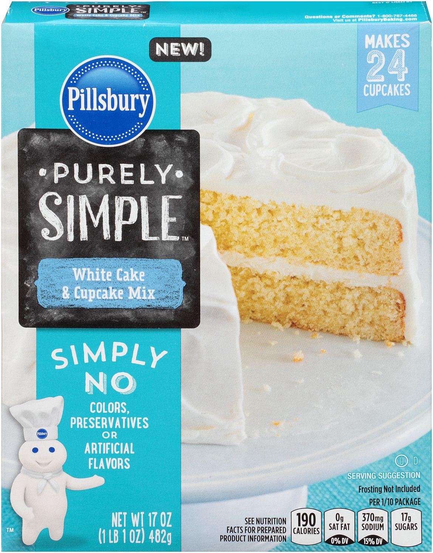Pillsbury Box Mix Cakes Flavors