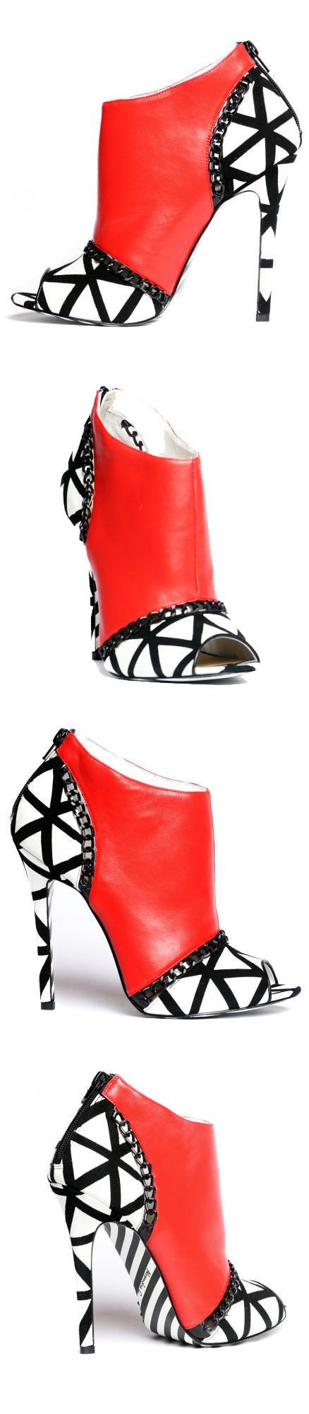 Alejandra G. Trinidad   @ shoes ( booties )