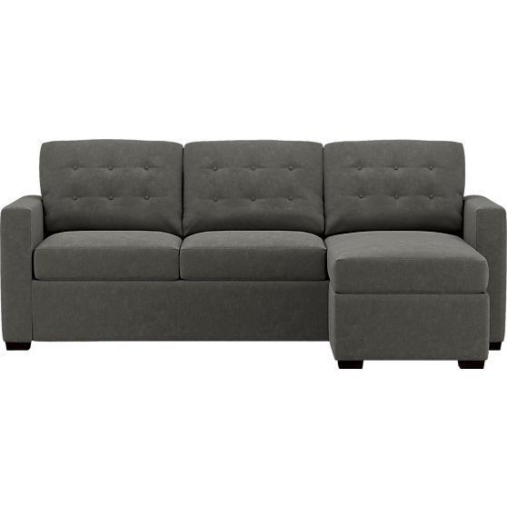 Best Allerton King Sleeper Lounge Sofa In Sleeper Sofas Crate 640 x 480