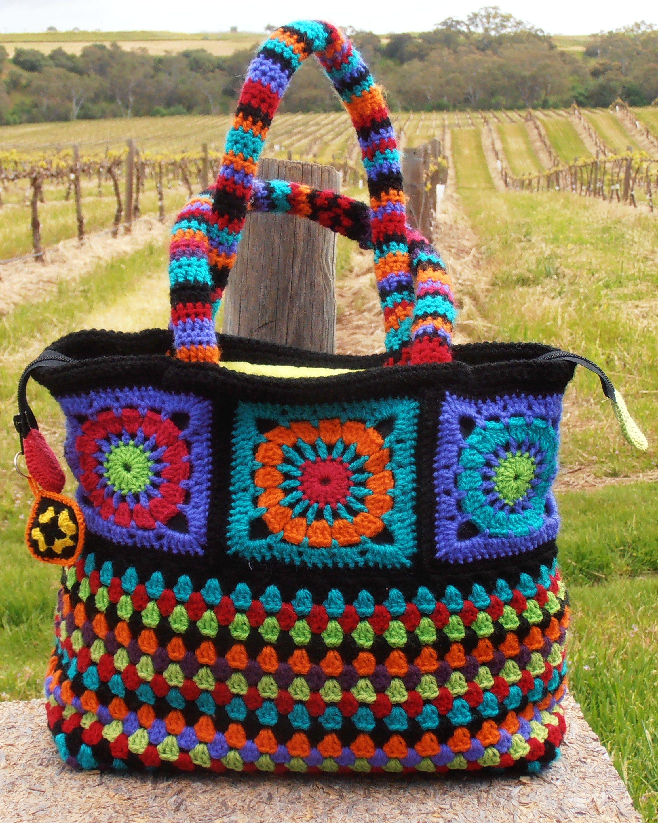 My Dolce & Gabanna look alike crochet bag.