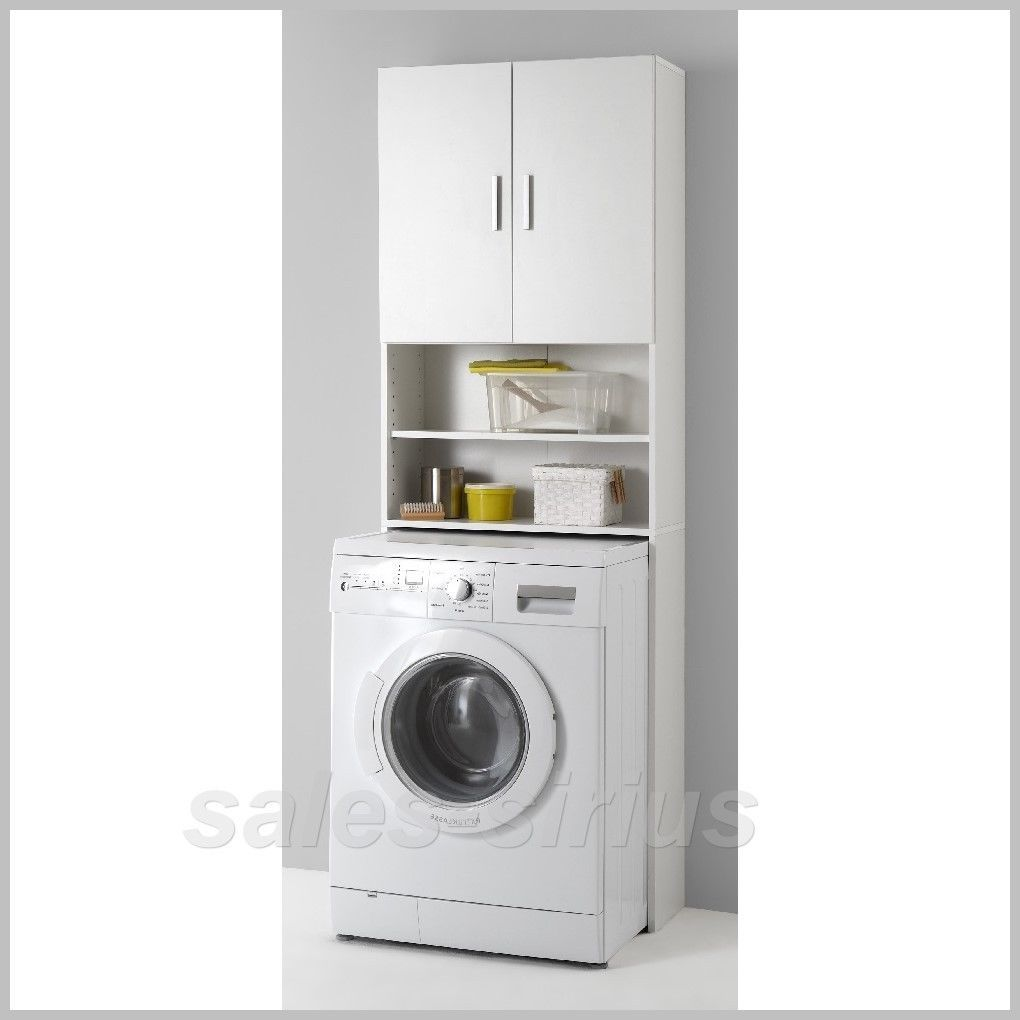 Washing Machine Cupboard Unit Cabinet Wash Bathroom Storage