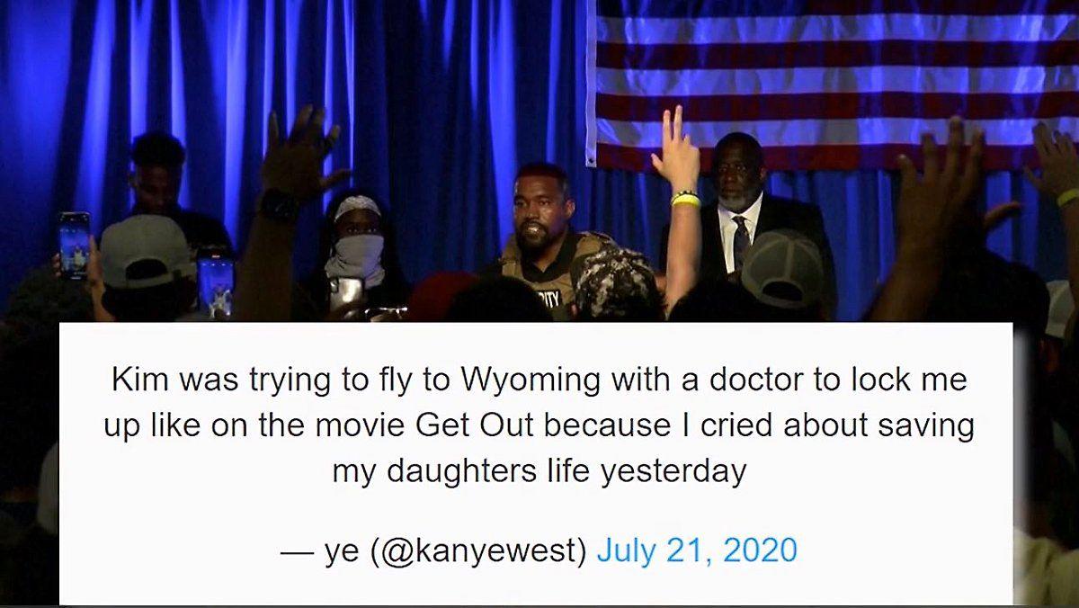 Kanye West Furchtet Einweisung Durch Ehefrau In 2020 Ehefrau Kanye West Rapper