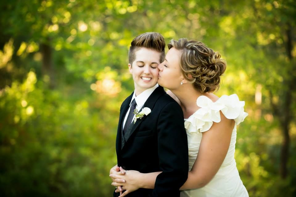 SheWired - Lesbian Wedding Ideas for The Bride in Pants | Captured ...