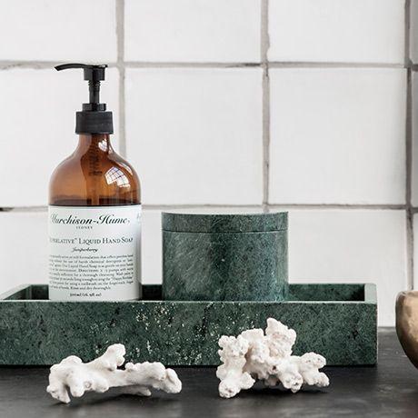 marmor tablett gr n alt image two furniture accessoires pinterest marmor badezimmer. Black Bedroom Furniture Sets. Home Design Ideas