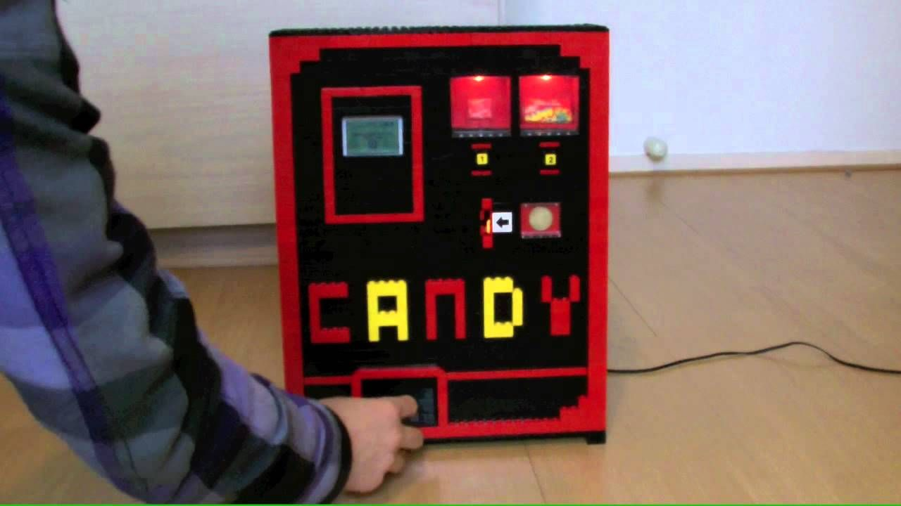 Lego Candy Machine Tangible Interaction Pinterest Lego Candy