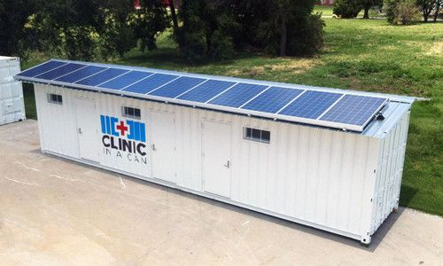 Container Hospitals To Improve Healthcare Access In Africa Solar Shipping Container Container Architecture