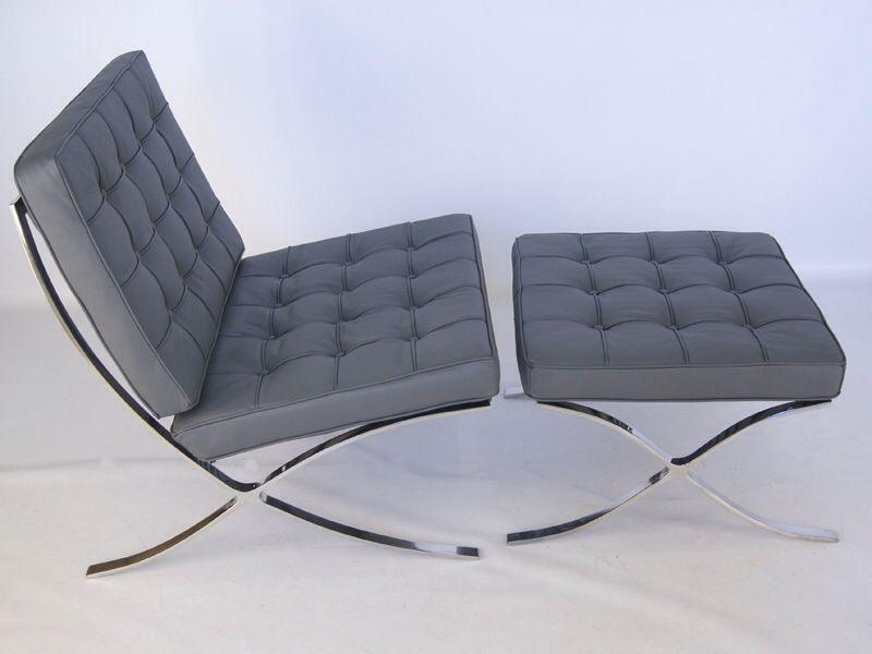 Livingroom Crux Blanket Grey Sofa Barcelona Chair Aggyslifestyle