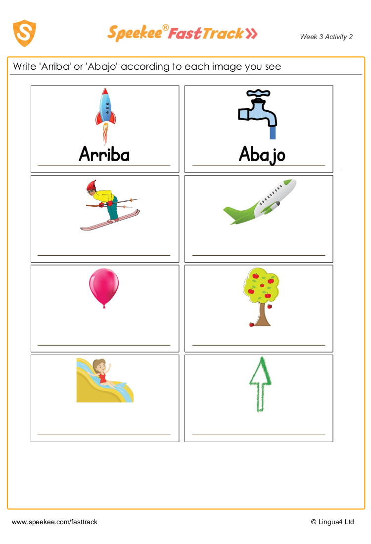Up And Down Arriba Y Abajo Spanish Printables Spanish Teaching Resources Unique Teaching Resources [ 1100 x 750 Pixel ]