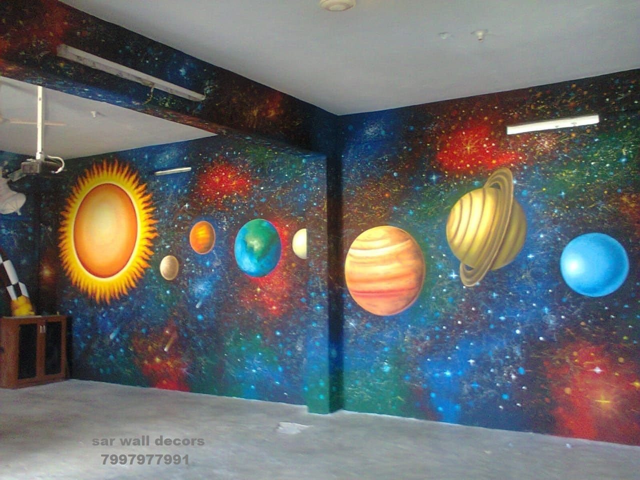 3d Wall Painting For Play School Wall Painting For School Office