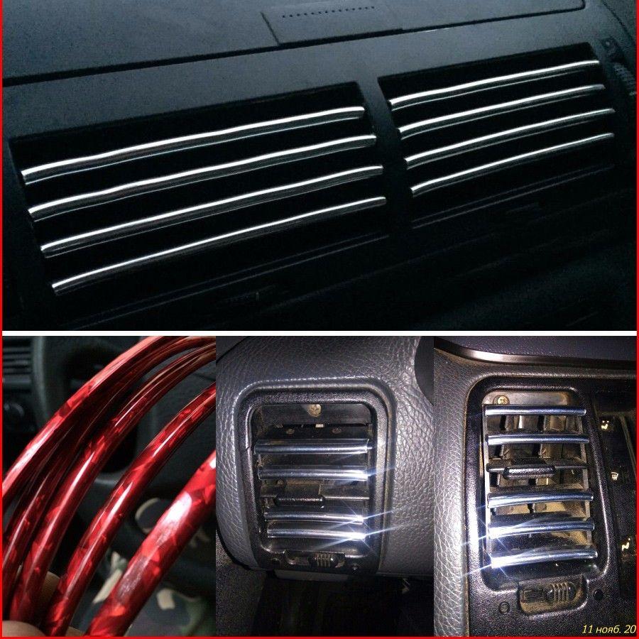 Photo of US $4.5 |U Style Car Modified Decoration Strip Air Outlet Blade stickers For Hyundai Santa Fe Solaris Sonata Terracan Tiburon Tucson|strip decoration|stickers forstickers style – AliExpress