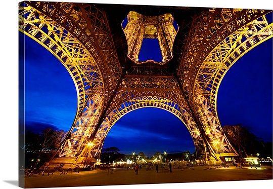 "Stunning Photo of the ""Eiffel Tower at Sunset"" by Scott Stulberg via @greatbigcanvas at GreatBIGCanvas.com."