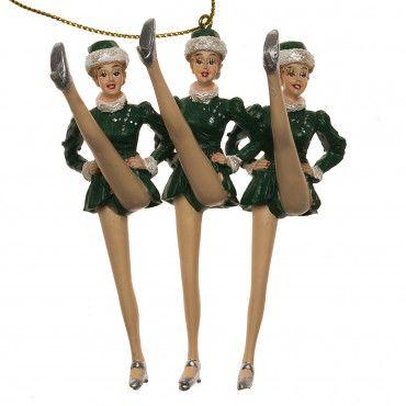 Radio City Rockettes 75th Anniversary Christmas Ornament