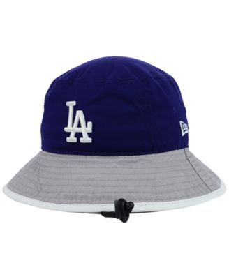 New Era Los Angeles Dodgers Tipped Bucket Hat  546f073b066