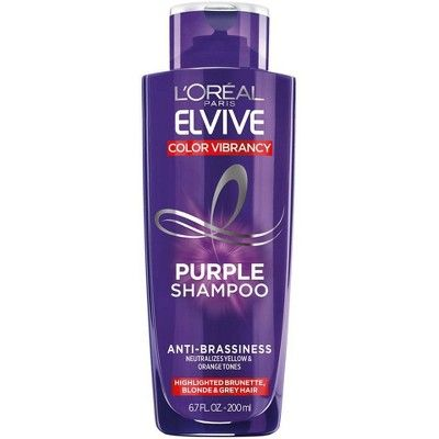 L Oreal Paris Elvive Purple Shampoo 6 8 Fl Oz In 2021 Purple Shampoo Beauty Products Drugstore Shampoo
