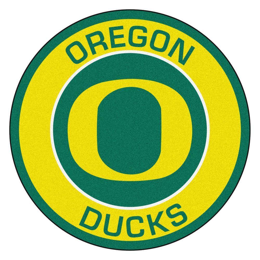 FANMATS Oregon Ducks Football-Shaped Mats