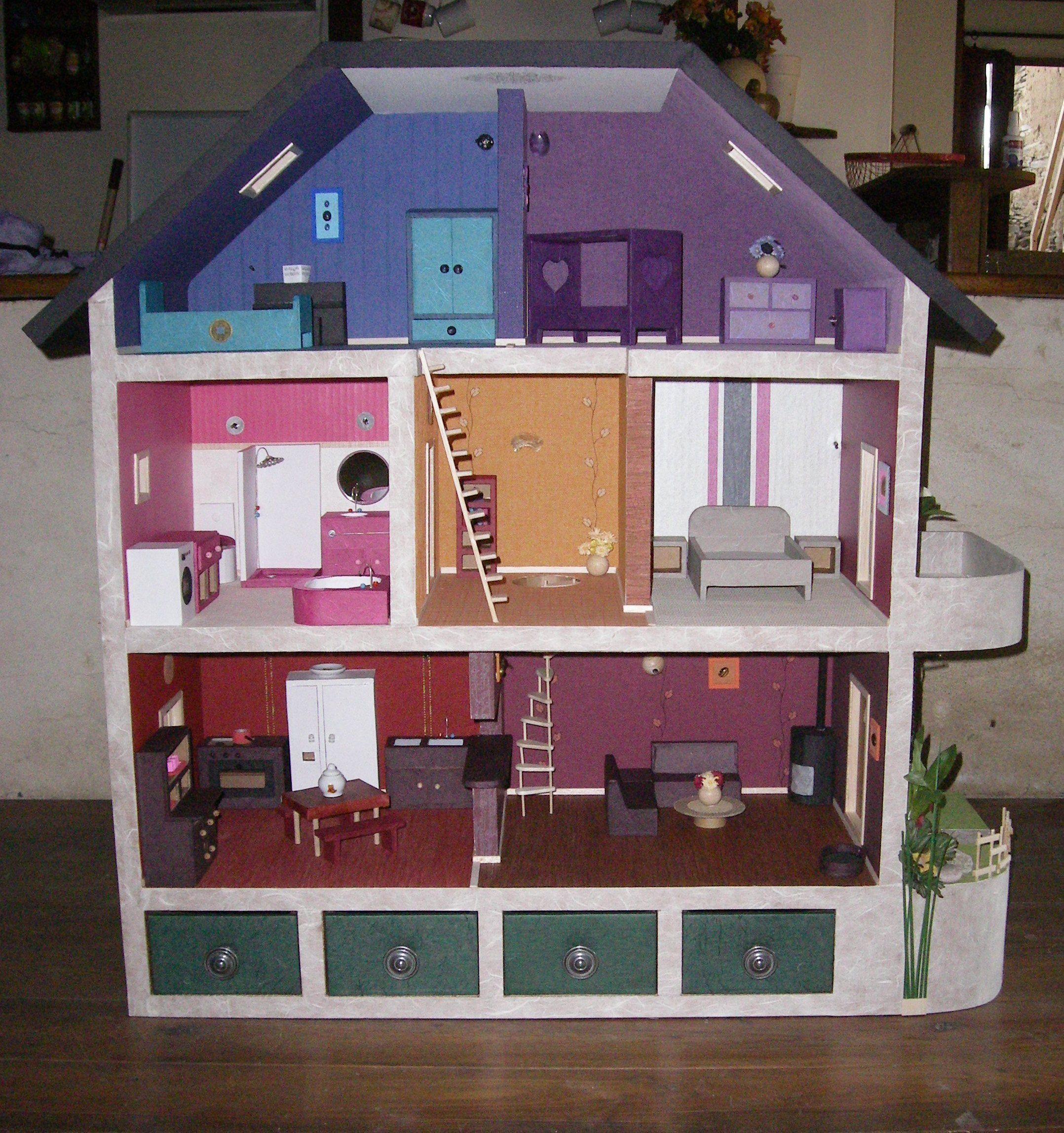 Maison Au 112 En Carton D Cor Wwwmobilier Carton Sur