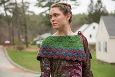 Magnolia Vintage Capelet - free crochet pattern