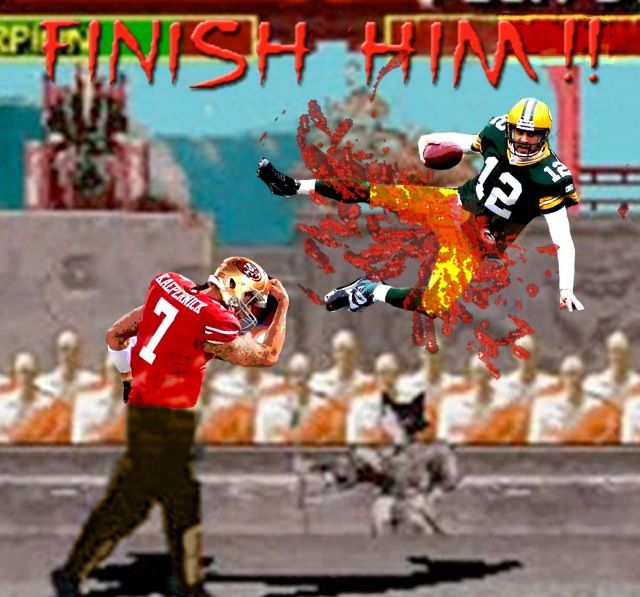 Finish him! | Funny football pictures, Nfl wildcard, Football funny